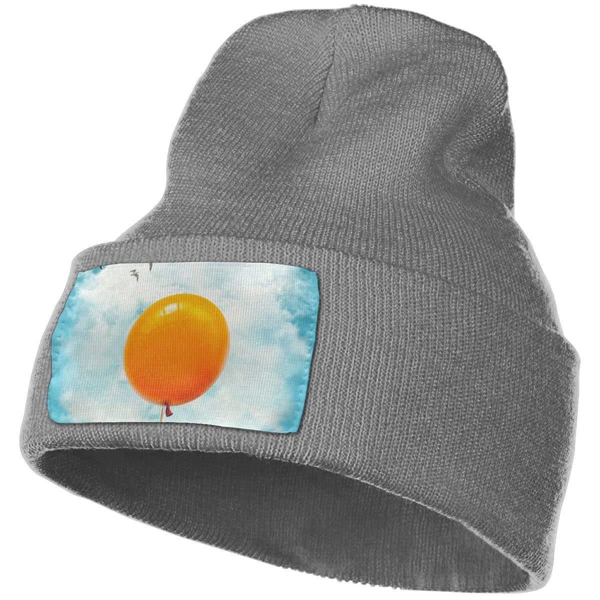 Sunny Side Up Egg Balloon Men /& Women Stylish Knit Beanie Hat Skull Streetwear Beanie