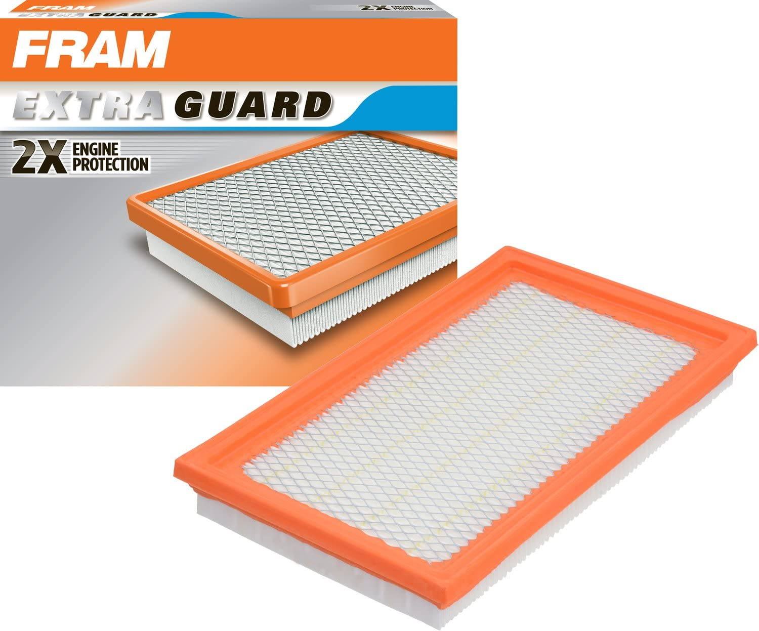 FRAM Extra Guard Air Filter, CA4309 for Select Infiniti, Nissan, Saab, and Subaru