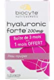 Biocyte Hyaluronic Forte 200mg Moisturizing Plumping 3 x 30 Tablets