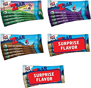 CLIF KID ZBAR - Organic Granola Bars - Variety Pack - Non-GMO - Organic -Lunch Box Snacks (1.27 Ounce Energy Bars, 18 Count)(Packaging & Assortment May Vary)
