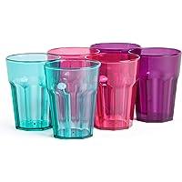 VonShef Conjunto de 6 Vasos de Plástico