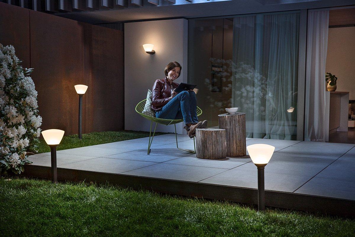 Osram applique lanterne extérieure led endura style verre