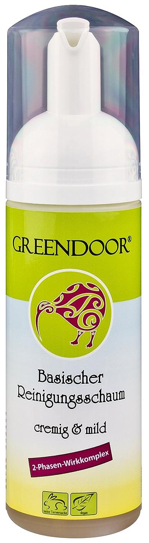 Greendoor milder basischer Reinigungsschaum Gesicht, echte 4,4 ...
