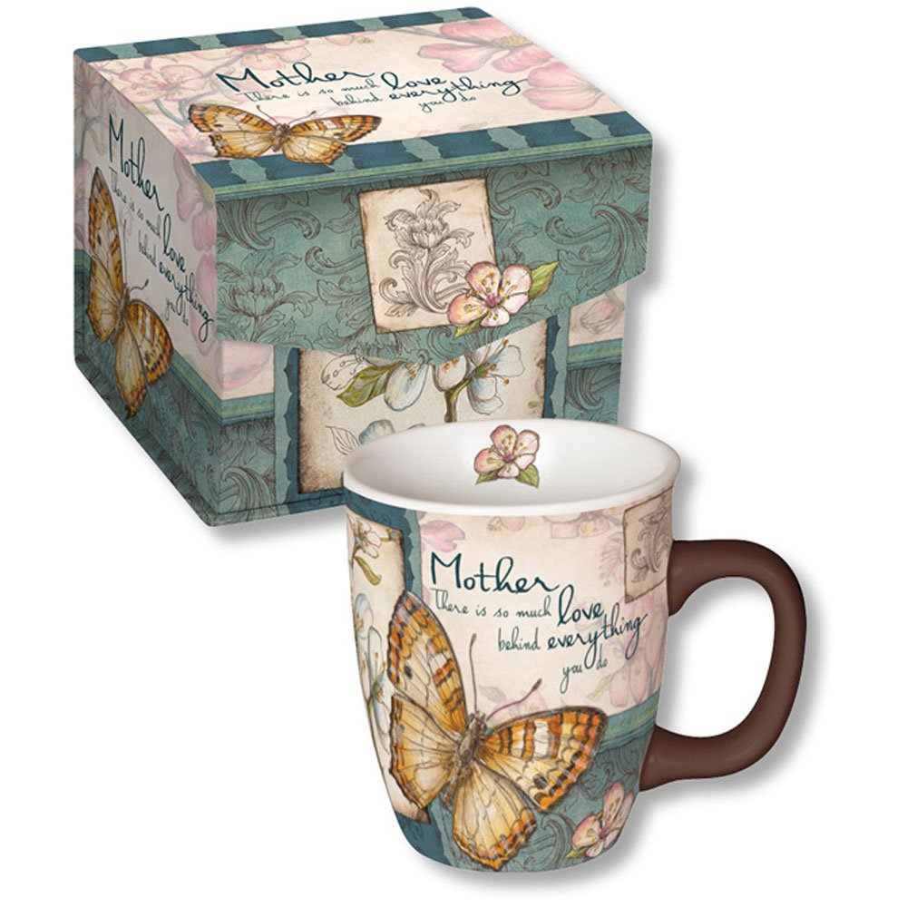 Mother There is So Much Love Behind Everything You Do Ceramic Coffee Mug with Decorative Box - Gift for Mom