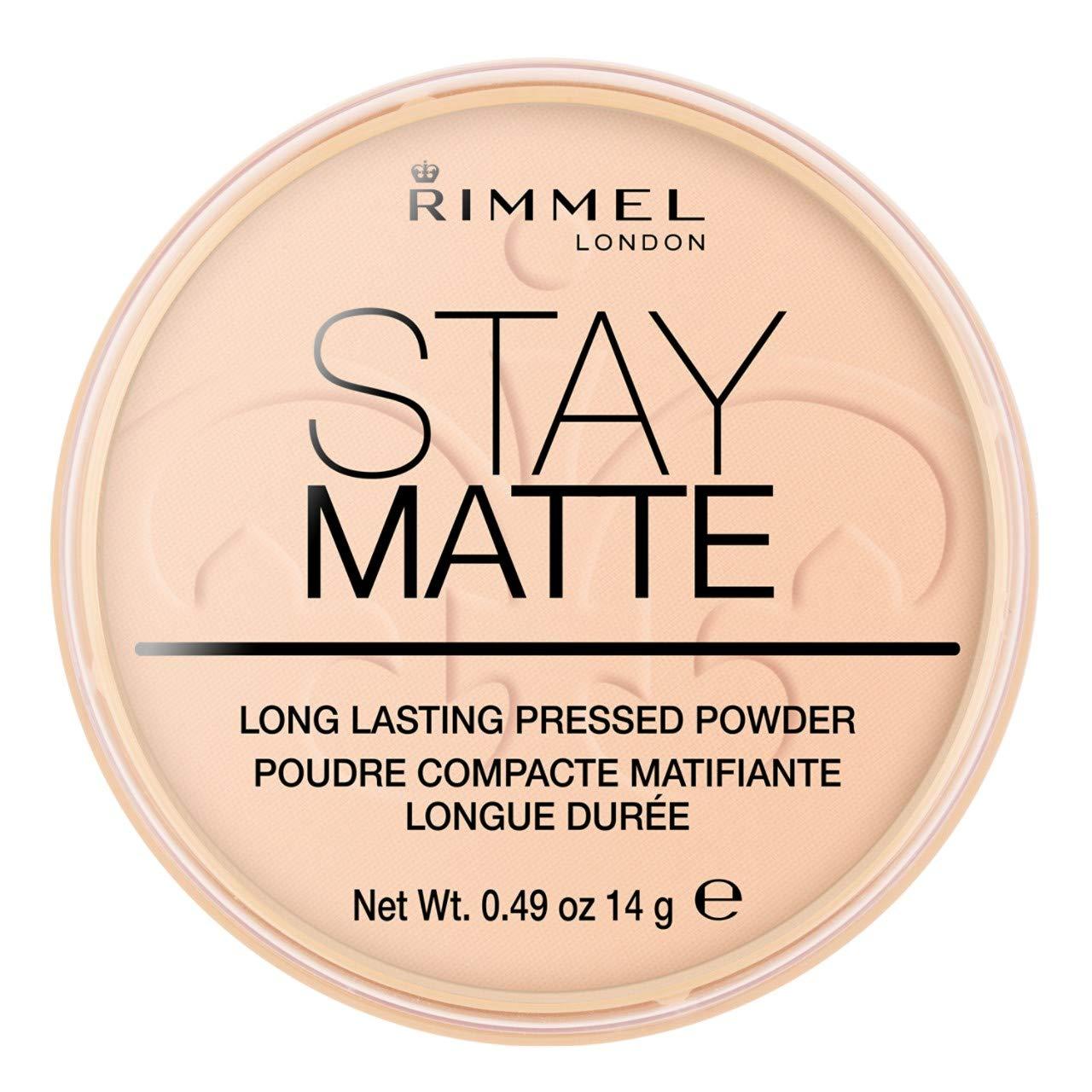 Rimmel London Stay Matte Pressed Powder, 6 Warm Beige, 14 g