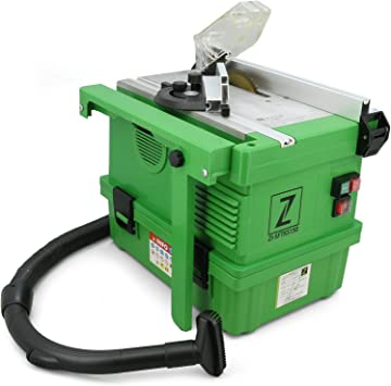 Sierra circular de mesa Zipper con aspirador, 1,1 kW, 4500 rpm: Amazon.es: Bricolaje y herramientas