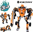 Robot STEM Toy   3 In 1 Fun Creative Set   Construction Building Toys For Boys Ages 6-14 Years Old   Best Toy Gift For Kids   Free Poster Kit Included