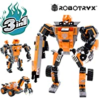 Robot STEM Toy | 3 In 1 Fun Creative Set | Construction Building Toys For Boys Ages 6-14 Years Old | Best Toy Gift For Kids | Free Poster Kit Included