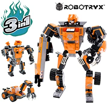 Juguete Robot Stem Divertido Juego Creativo 3 En 1 Juguetes De