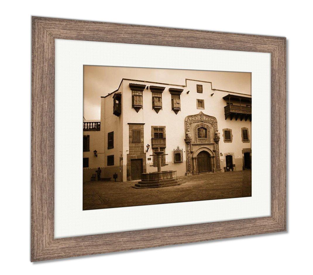 Amazon.com: Ashley Framed Prints Las Palmas Gran Canaria ...
