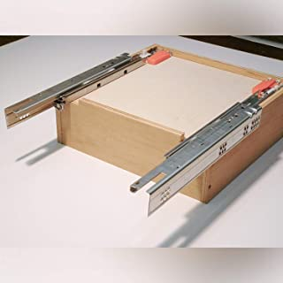 """product image for Pro Pack of 5Pcs, Tandem Plus Blumotion 563F Drawer Runner For Face Frame, 21"""" Drawer"""