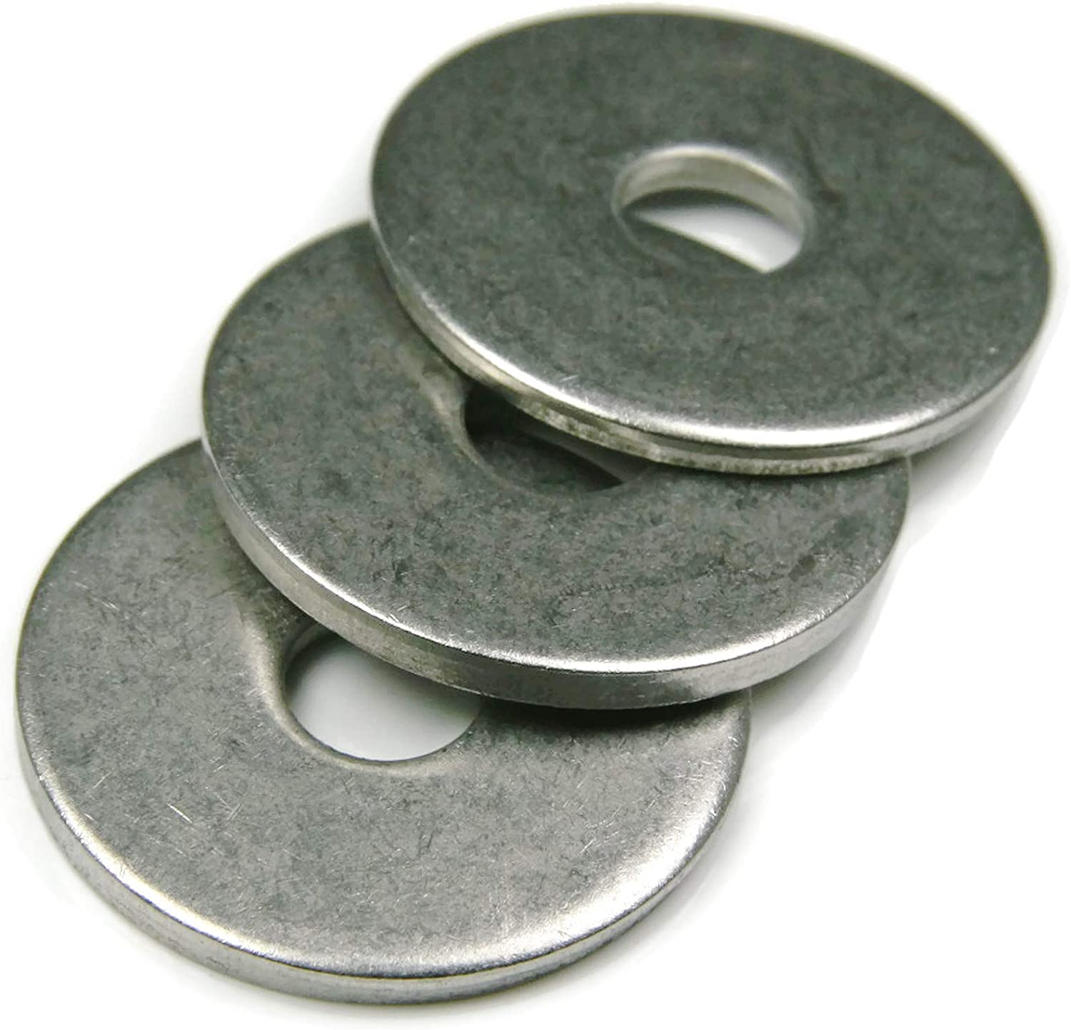 3//8 x 1-1//2 OD Pack of 25 Pieces Extra Thick Fender Washers 18-8 Stainless Steel Washers