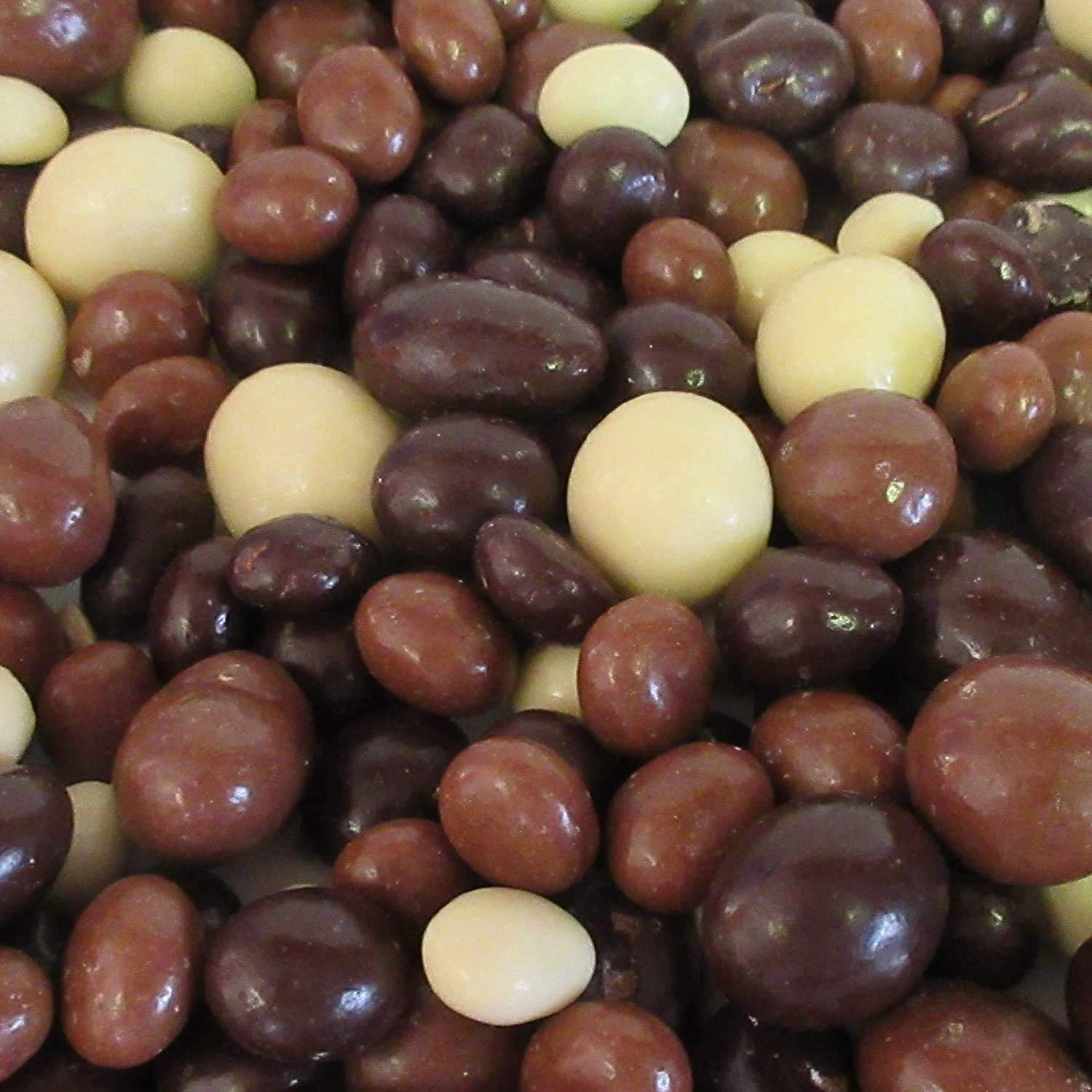 Gourmet Chocolate Covered Espresso Beans Medley by Its Delish – 5 LBS Bulk Bag – Premium Kosher Dairy Mix of Dark, Milk & White Chocolate Covered Coffee Beans