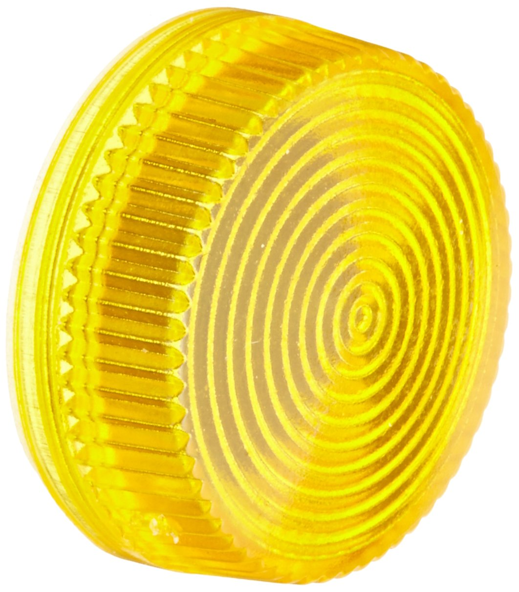 Yellow Concentric Rings Used With 3SB2 Light Indicators 3SB29101AD Siemens 3SB29 10-1AD Screw Lens