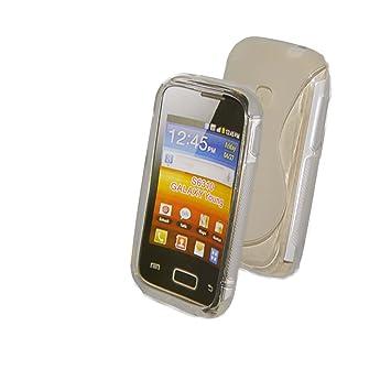 Funda de silicona para Samsung Galaxy S6310 Galaxy Young de ...