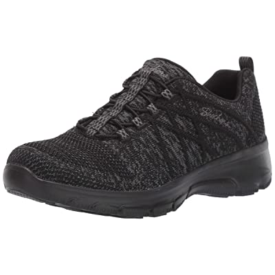 Skechers Women's Easy Going-Exchange-Engineered Knit Bungee Sneaker   Fashion Sneakers