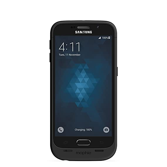 the best attitude f66b2 a8401 mophie Juice pack for Samsung Galaxy S6 (3,300mAh) - Black