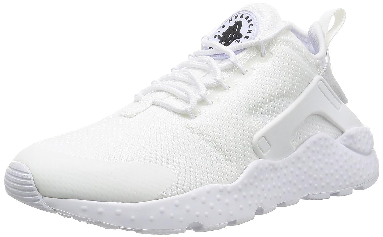 new arrival 3465c 7e47f Nike W Air Huarache Run Ultra - Scarpe da Corsa, Donna, Colore Bianco (White /White-Black), Taglia 42: Amazon.it: Scarpe e borse