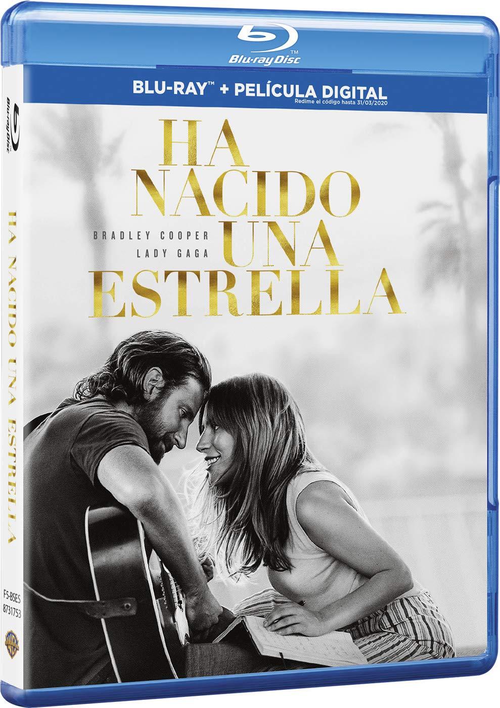 Ha Nacido Una Estrella Blu Ray Blu Ray Amazon Es Bradley Cooper Lady Gaga Bradley Cooper Bradley Cooper Lady Gaga Cine Y Series Tv