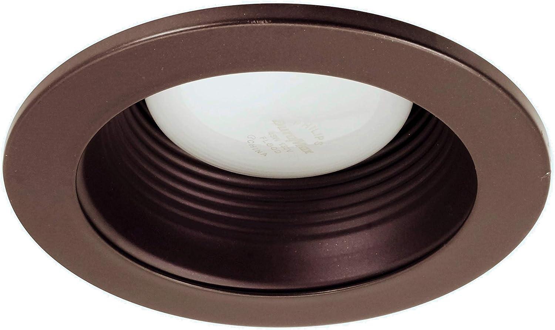 for 4 inch Housings 19501BZ NICOR Lighting 4 inch Bronze Baffle Trim