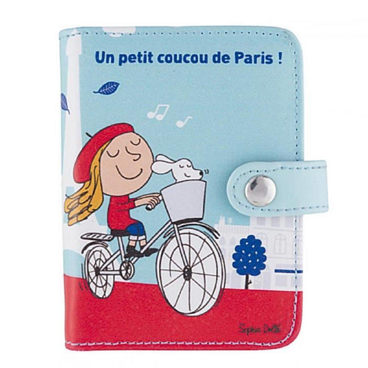 Derrière La Porte Dlp Porte Cartes De Fidélité Coucou Paris Rouge