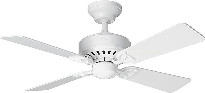 Hunter Fan Bayport Ventilador de techo, 58 W, Acero Inoxidable, 3 ...
