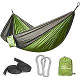 Forbidden Road Hammock Single Camping Portable Parachute Hammock for Outdoor Hiking Travel Backpacking - 210D Nylon…