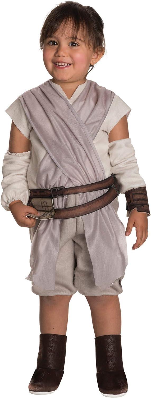 Rubies Costume Girls Star Wars VII: The Force Awakens Rey Costume Multicolor Domestic 510192 2T Rubies