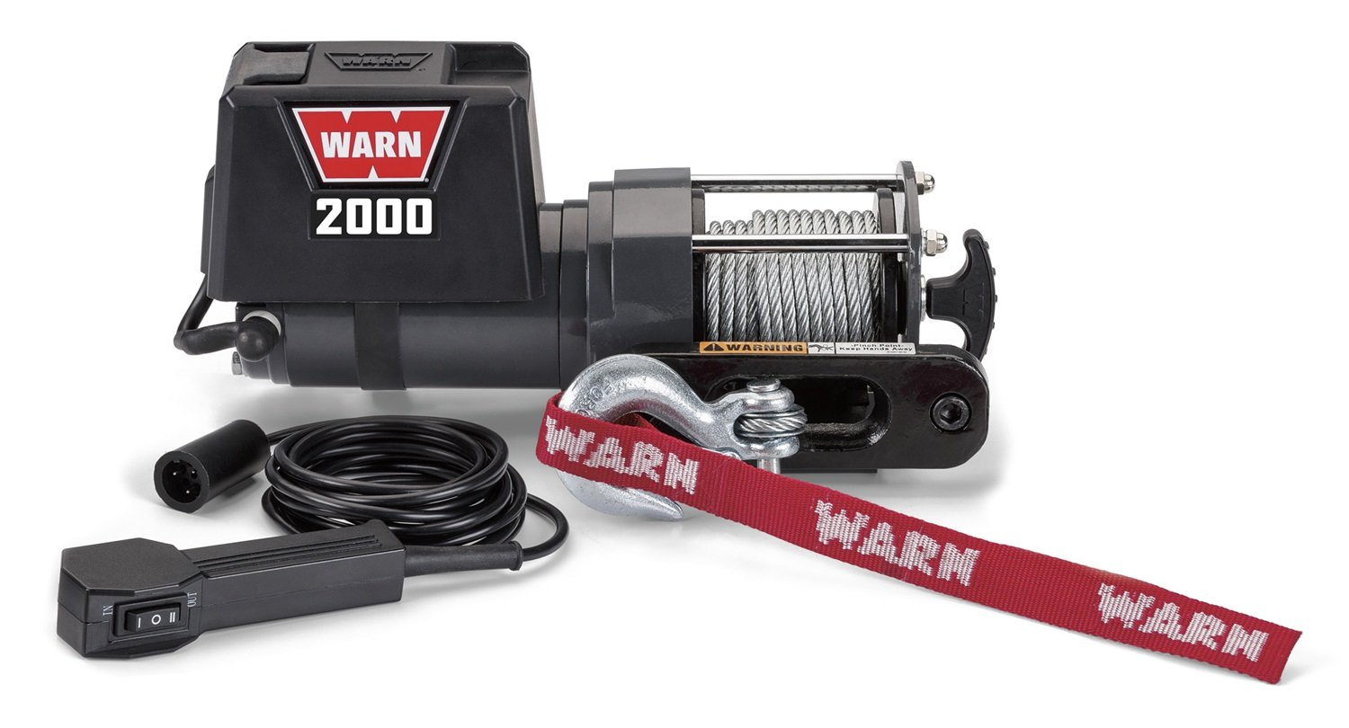 Warn 92000 2000 Dc Utility Winch Automotive T Max Remote Wiring Diagram