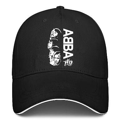 MAMAGIRLSES Gorra de béisbol Unisex clásica Abba para Hombre y ...