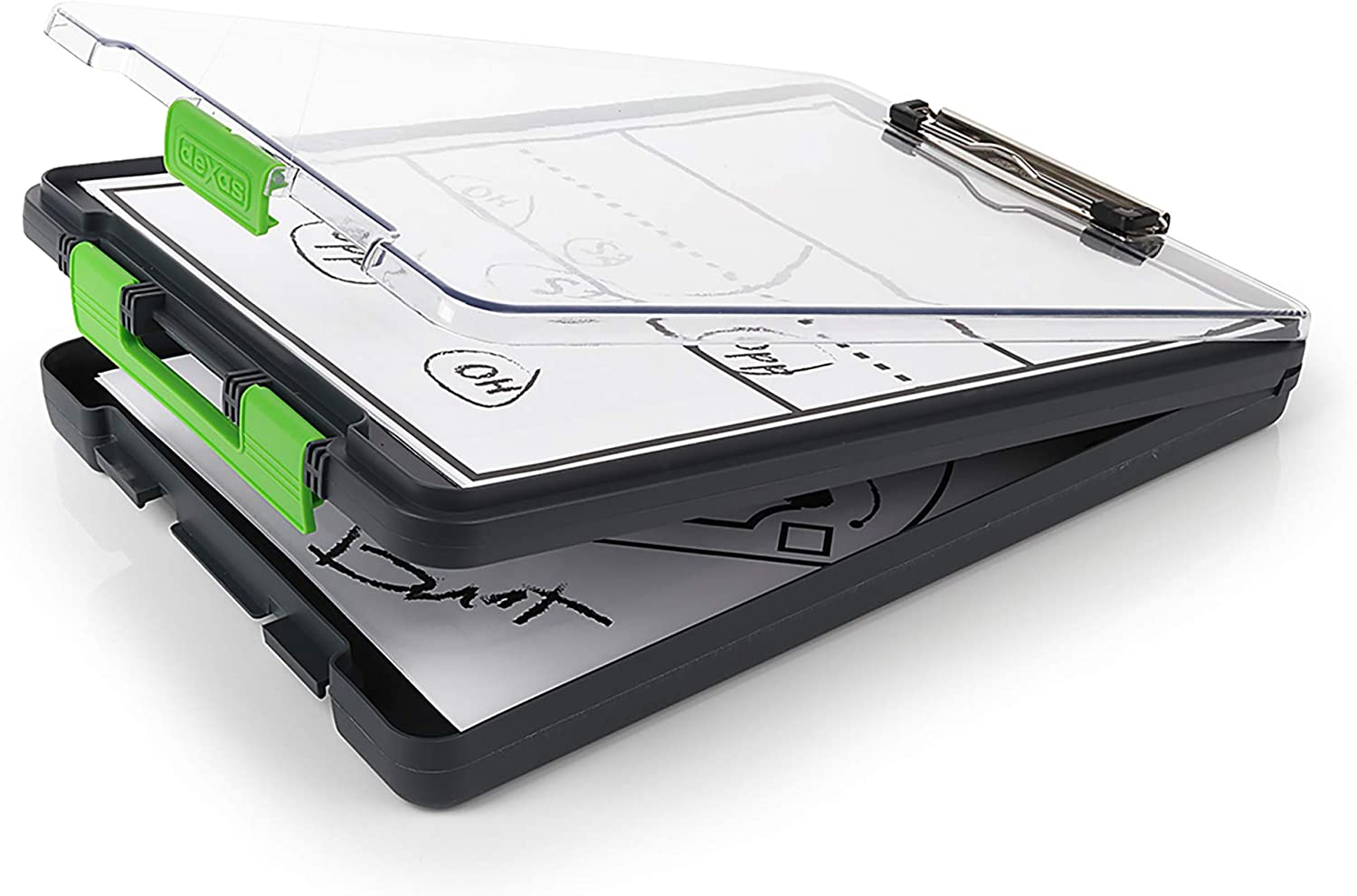 Storage clipboard for therapists