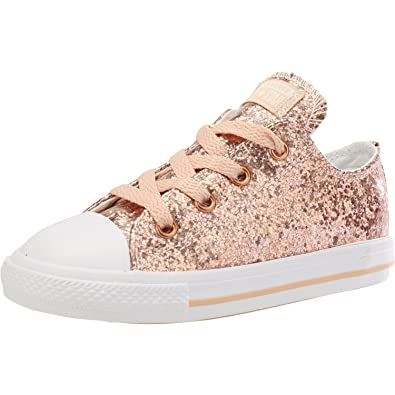 comprar converse chuck taylor all star sparkle synthetic ox rosa
