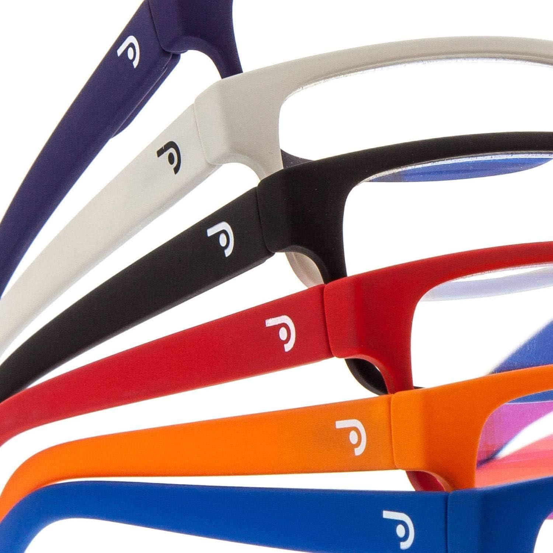 6 colori e 6 Diottrie Tocco di Gomma THYSSEN Monitor o Gaming Montatura per Computer PC Aste Flessibili e Lenti Antiriflesso Occhiali da Lettura o Vista Anti Luce Blue per Uomo o Donna