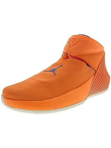 f34accccd Nike Men's Jordan Why Not Zero.1 Orange Pulse/Hyper Royal Sail Mid ...