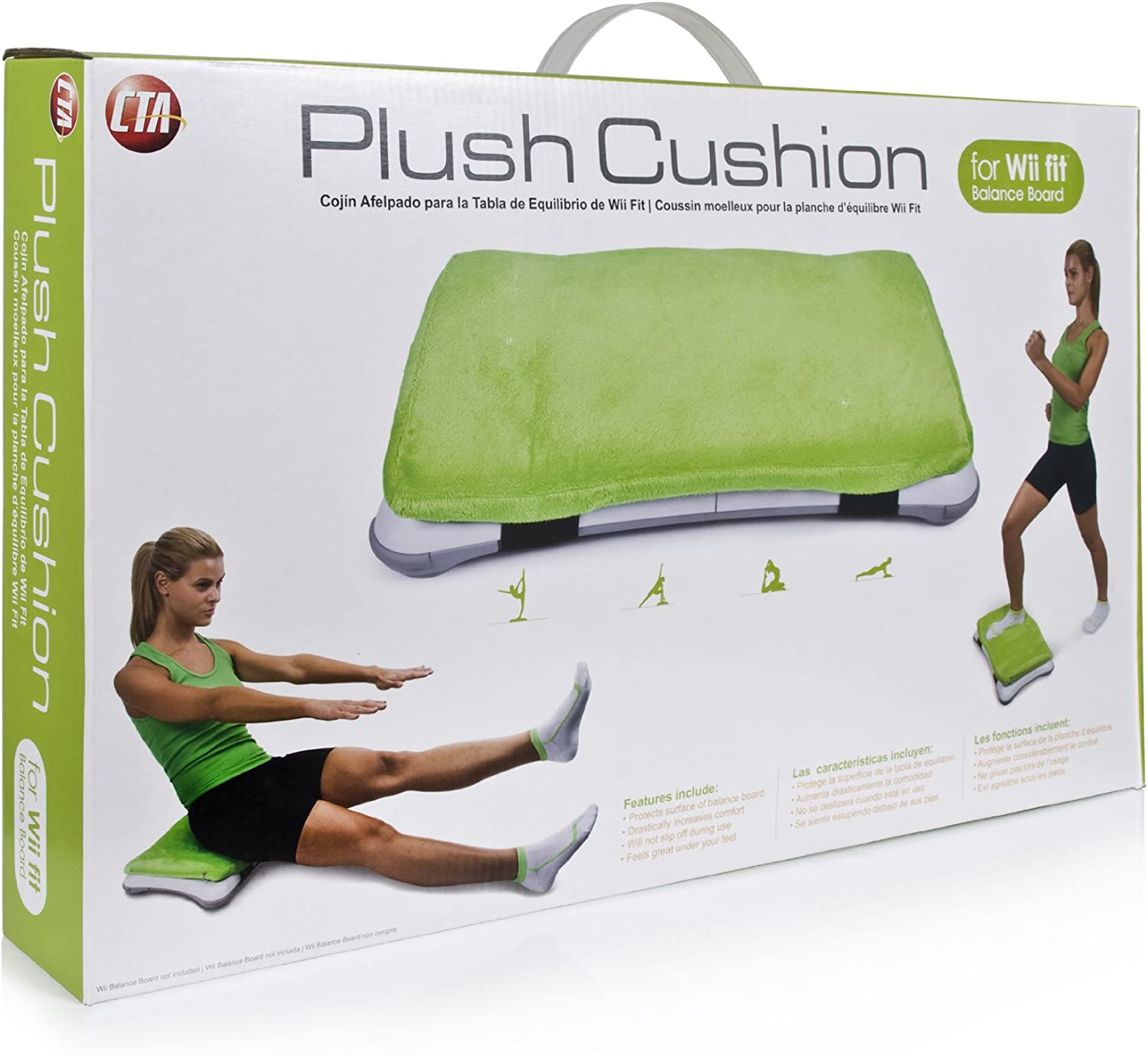 Amazon.com: Wii Plush Cushion for Wii Fit Balance Board ...
