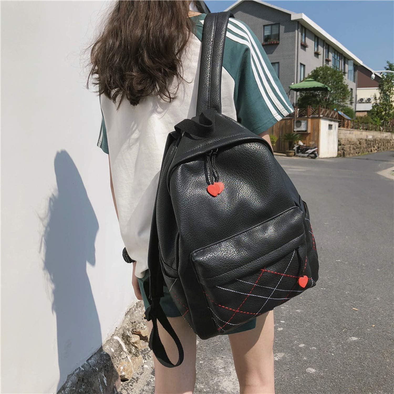 Women Backpack Leather Large School Bag Backpack for Teenger Girls Leisure PU Shoulder Bag Female Student BookBag
