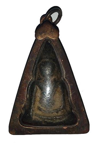 Buddha Statue Asian Art and Thai Vintage Antique Beautiful Interesting Thai Gift Phra Tird Kon Nok Statue