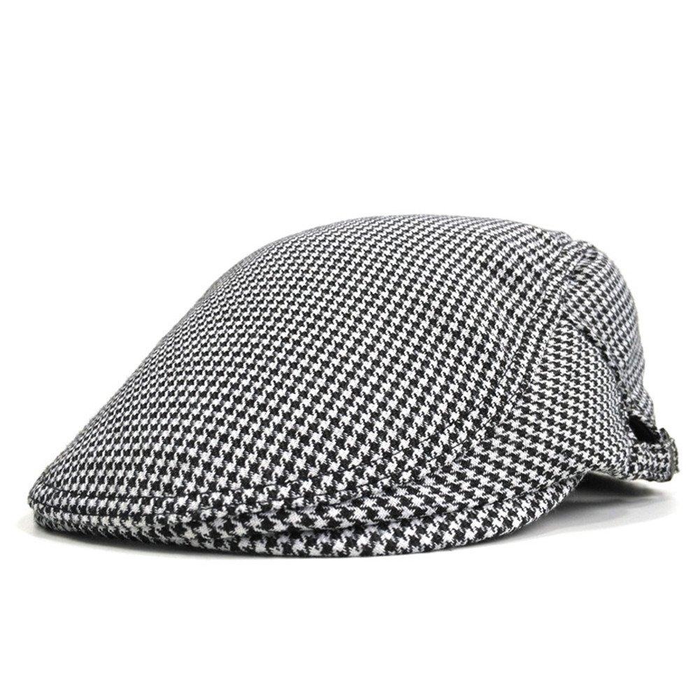 616032531 Soultopxin Men Adjustable newsboy Cap Unisex Cotton Warm Flat Hat 2 ...