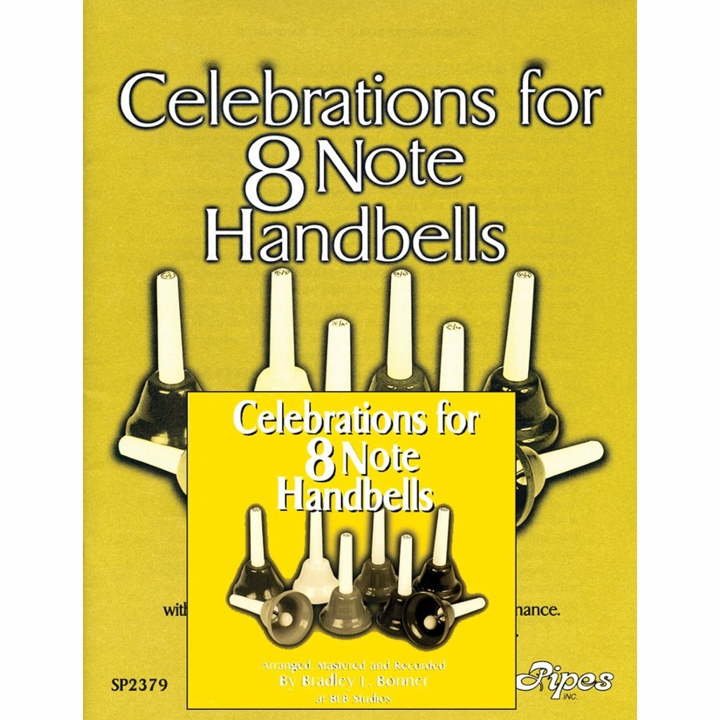 Bonner Celebrations for 8 Note Handbells Book and CD (8 Songs) by Westco