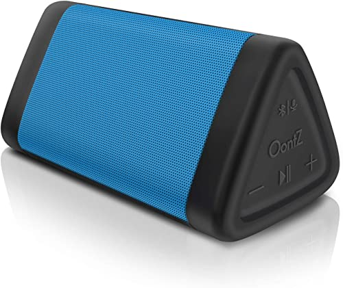 OontZ Angle 3 3rd Gen Portable Bluetooth Speaker, Louder Crystal Clear Stereo Sound, Rich bass, 100 Ft Wireless Speaker Range, IPX5, Bluetooth Speakers by Cambridge SoundWorks Blue