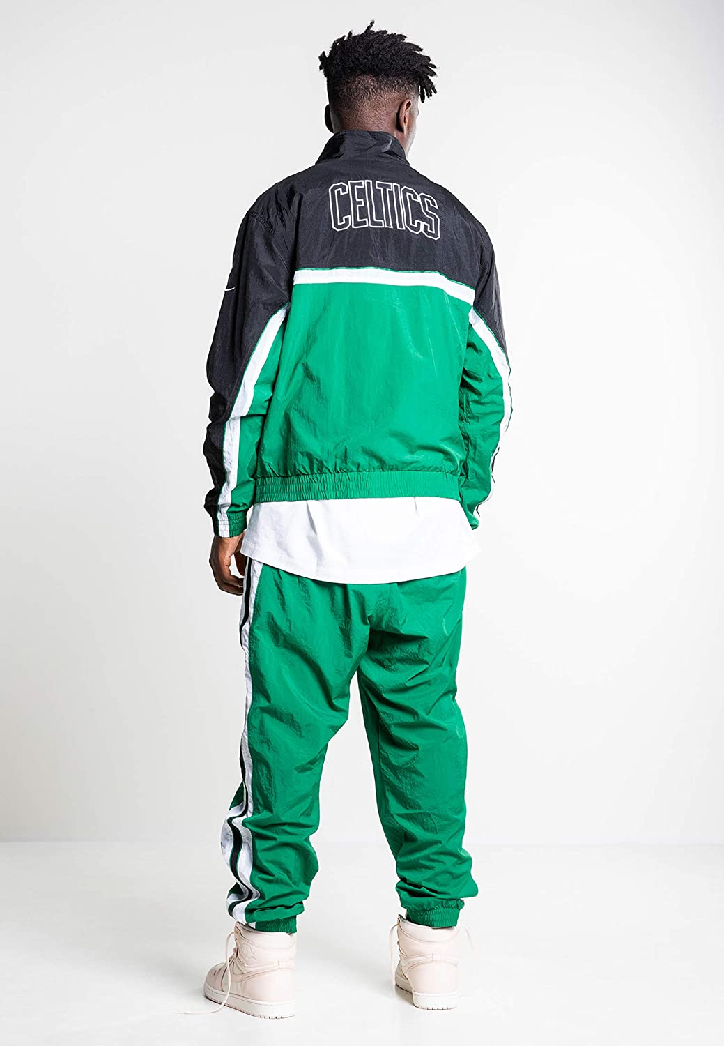 Nike Bos M Nk Tracksuit Courtside Chándal, Hombre, Clover/Black ...