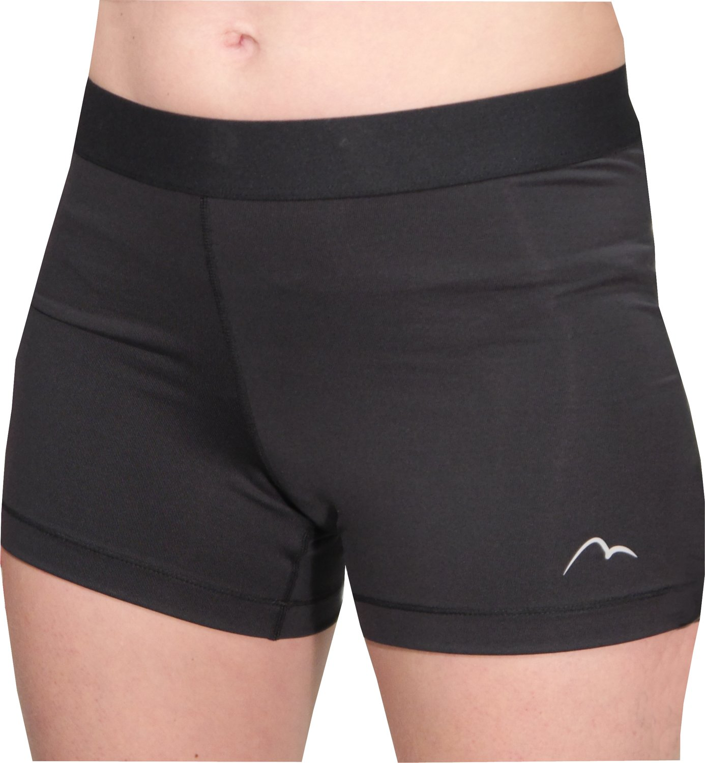 Black-XS More Mile 3 Inch Racer Boy Womens Running Shorts