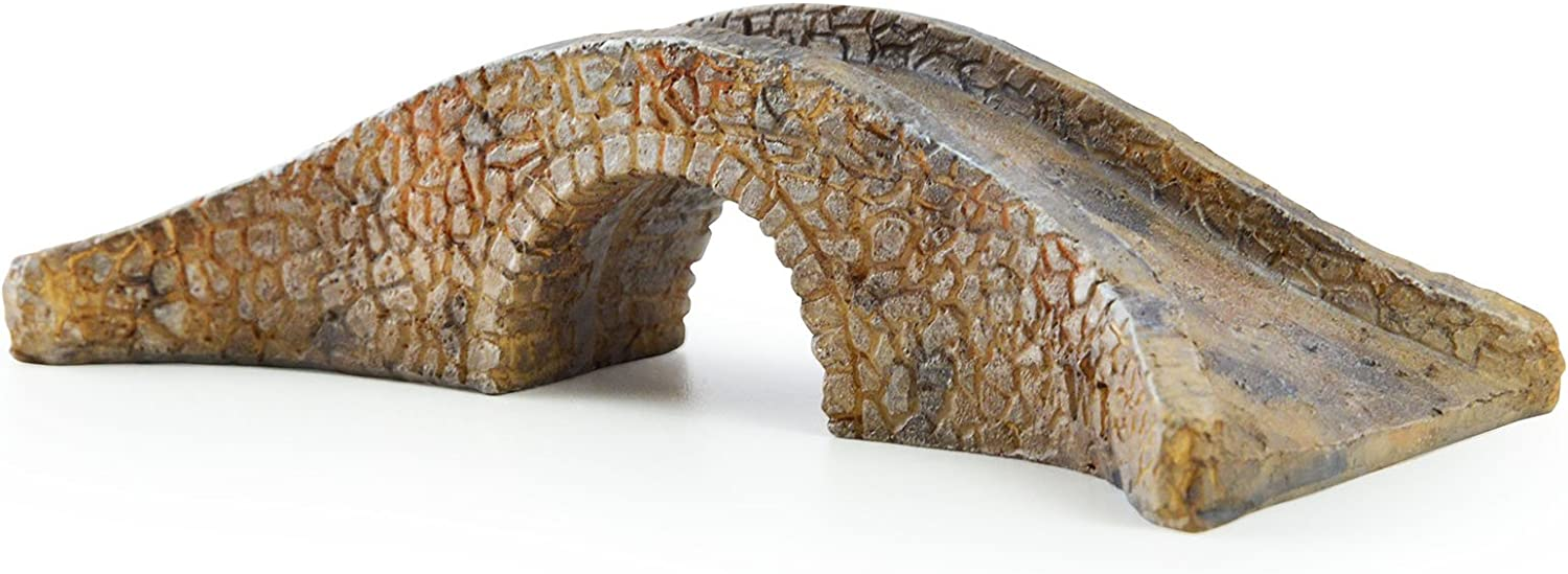 Sugar House Miniature Fairy Garden Accessories – Garden Décor Accessories Home for Fairies (Stone Bridge)