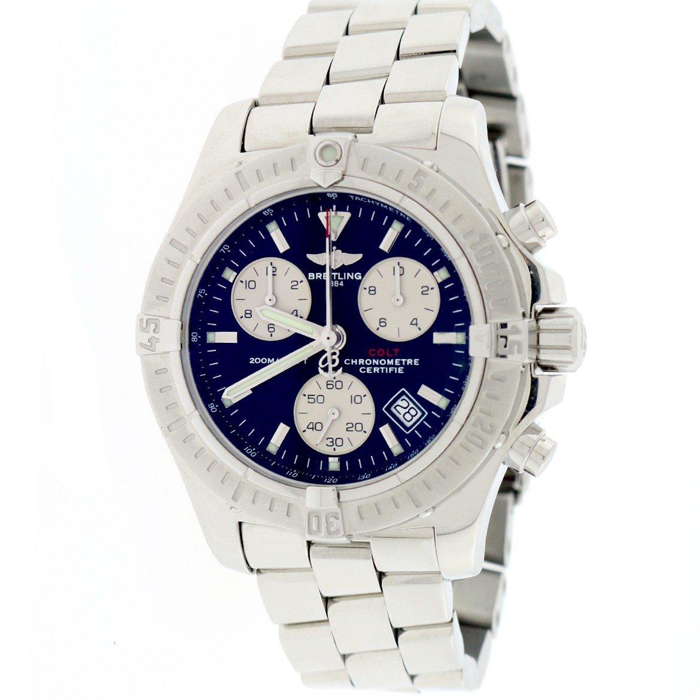 Breitling Colt analog-quartz mens Watch A73380 (Certified Pre-owned)