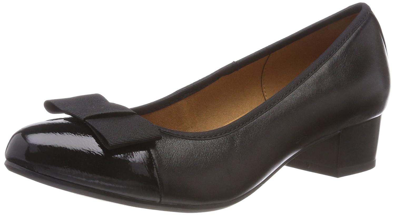 Caprice 22303, Zapatos de Tacón para Mujer 37.5 EU|Negro (Blk Nappa Comb 26)
