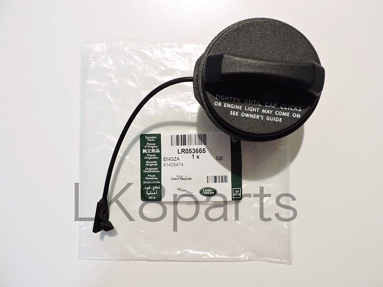 Proper Spec GAS CAP GENUINE LR053665 for SPORT EVOQUE LR3 LR4