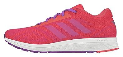 adidas Damen Mana Bounce W Laufschuhe, Rot (Rojimp/Ftwbla/Pursho),