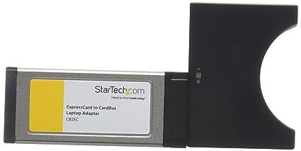 StarTech.com CB2EC - Adaptador ExpressCard a CardBus para Ordenadores portátiles