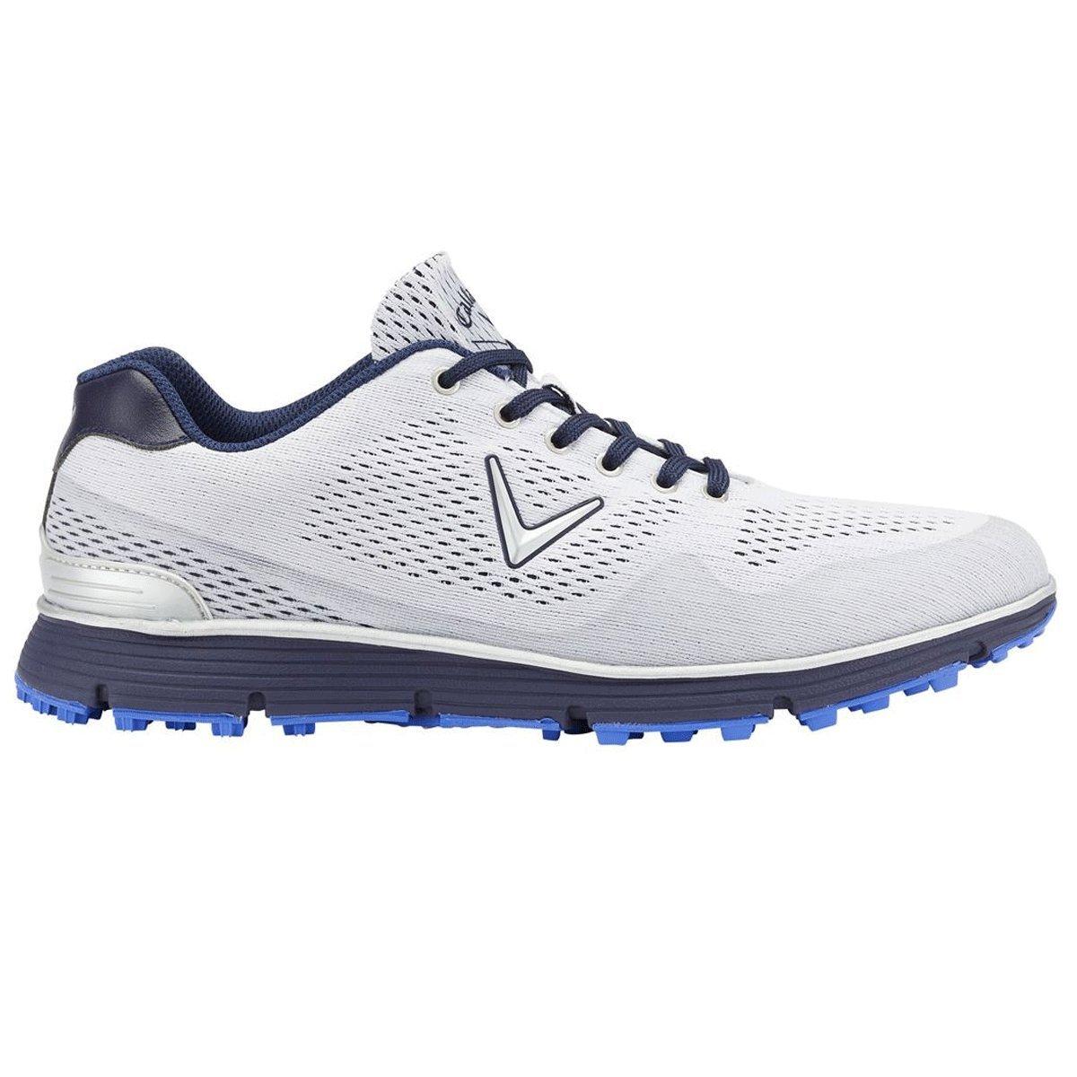 Callaway Golf 2018 Mens Chev Series Vent Spikeless Golf Shoes B078W79LYR 7.5 UK/ EUR 41 / US 8.5 White/Peacoat
