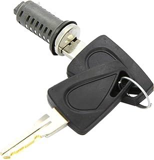 Brunner 215/250 - Cilindro de cerradura para puerta de caravana (2 llaves incluidas